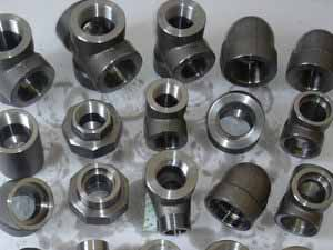 SS 347H Threaded Forged Fittings