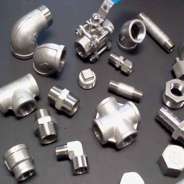 SS Forged Threaded Fittings