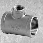 Stainless Steel 347H Threaded Tee