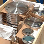 S31803 SS Flanges Packaging