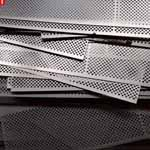 Duplex Steel S31803/S32205 Perforated Sheet