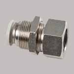 Inconel Female Bulkhead Connector